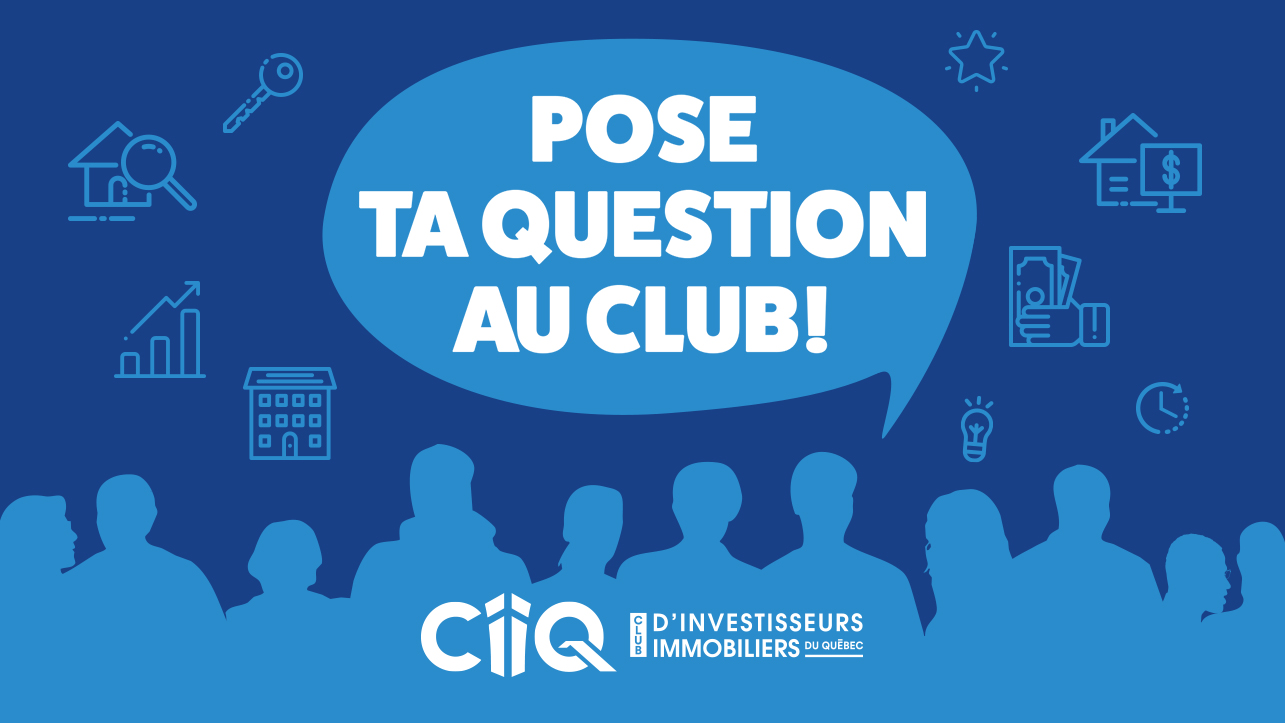 Pose ta question au Club!