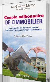 Couple millionnaire de l'immobilier