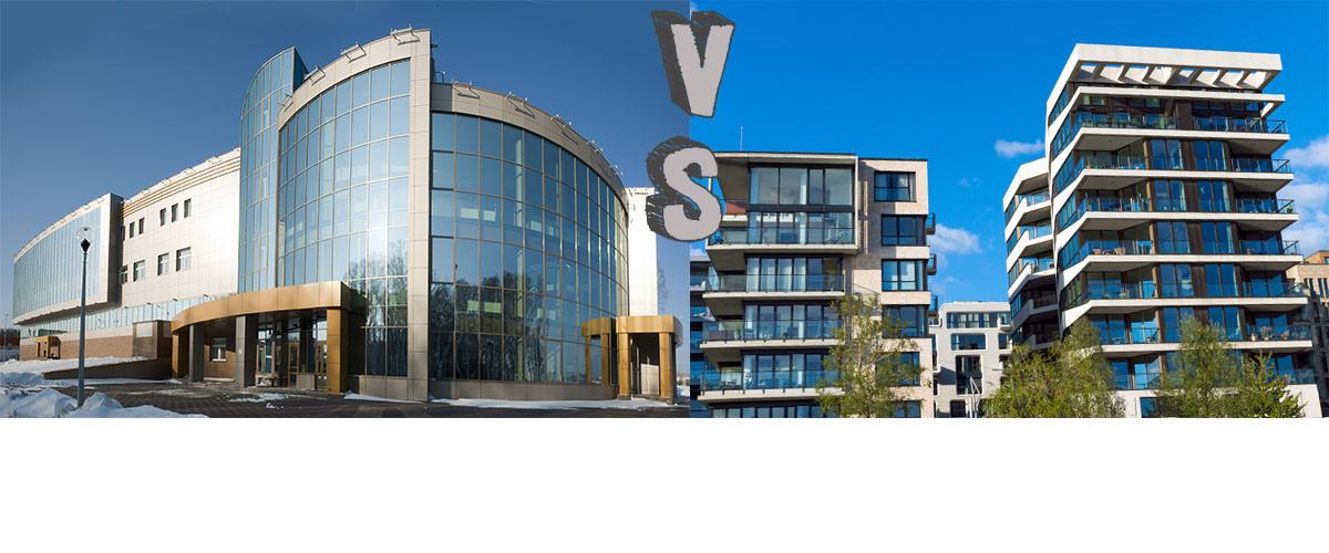 Acheter des immeubles résidentiels ou commerciaux?