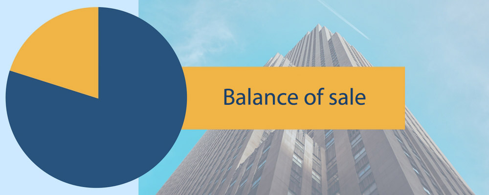 The mythical balance of sale