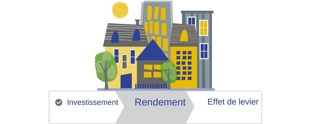 L'investissement immobilier, un enrichissement éminent