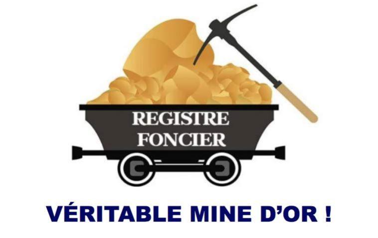 Le registre foncier appliqué : Une véritable mine d'or