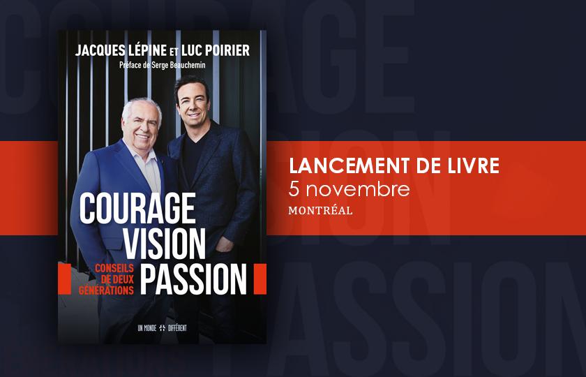 Lancement du livre de Jacques Lépine et Luc Poirier-Clubimmobilier.ca