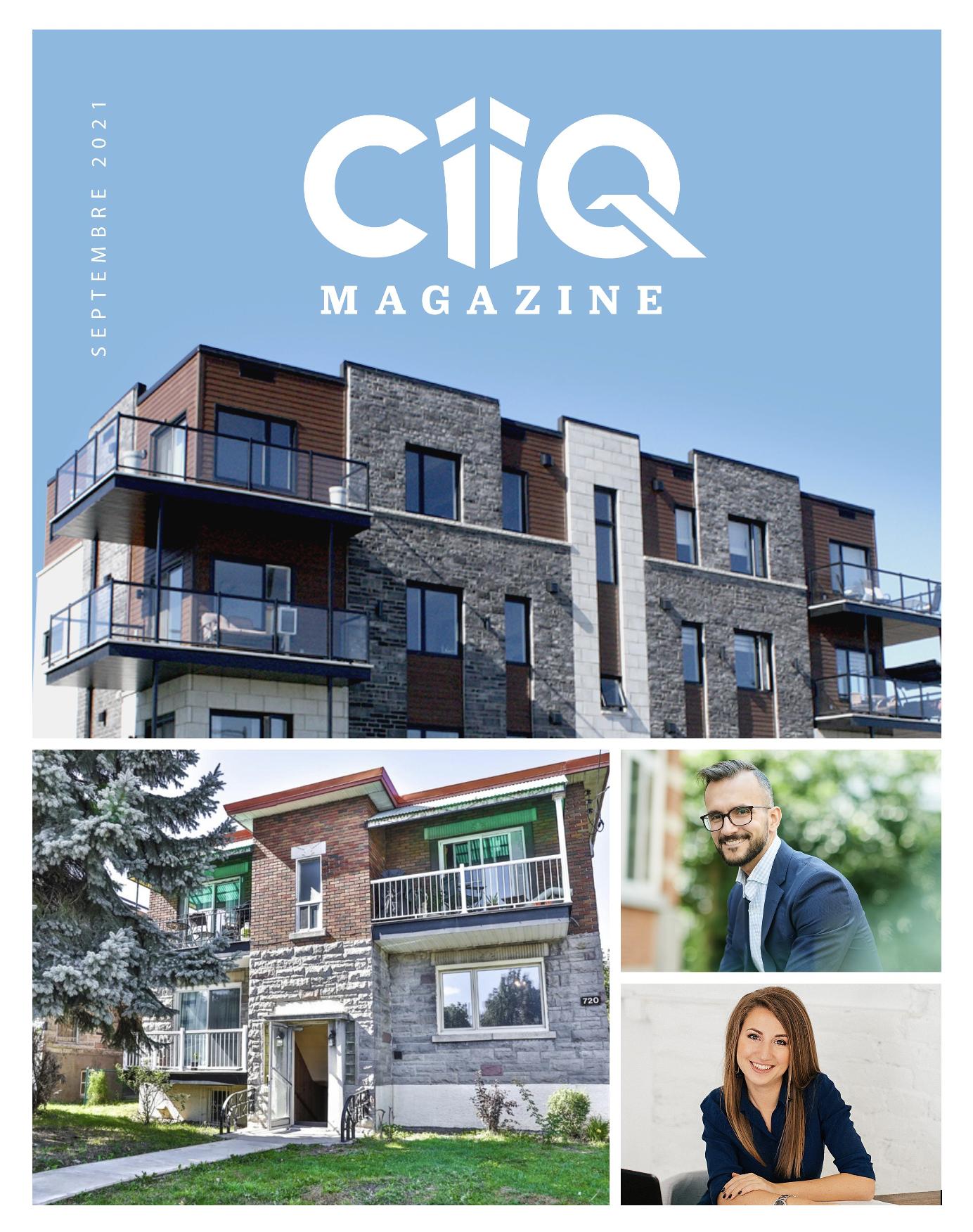 Mag du CIIQ, magazine du Club d'investisseurs immobiliers du Quebec