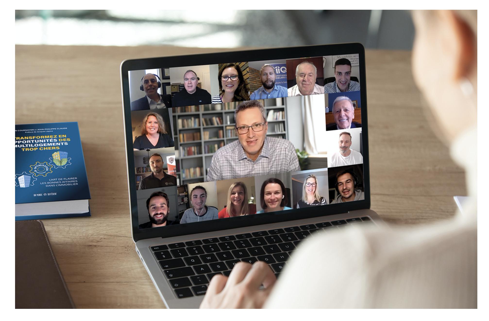 Les évènements virtuel du Club d'investisseurs immobiliers du Québec